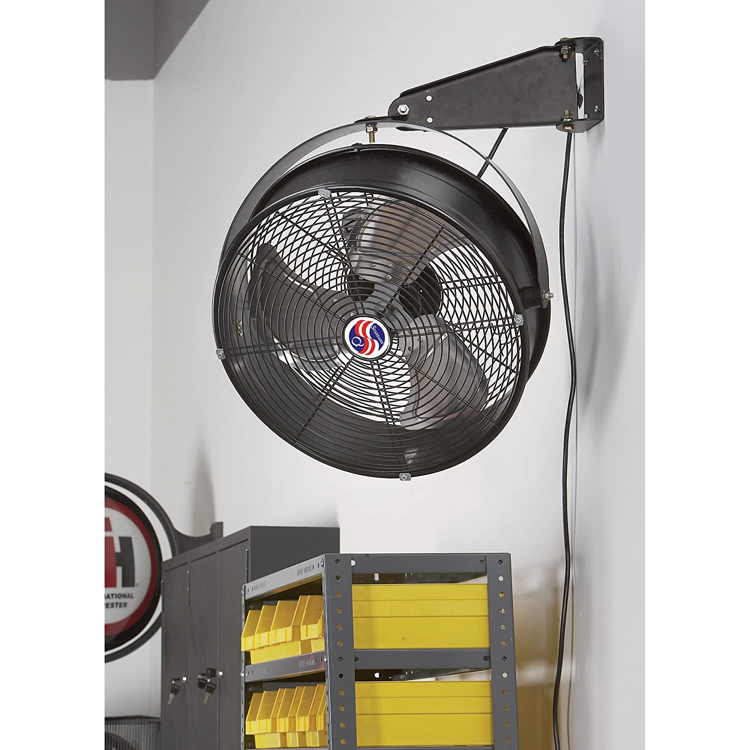 Ventilation Fans For Garage Keeping Cool In The Garage Can