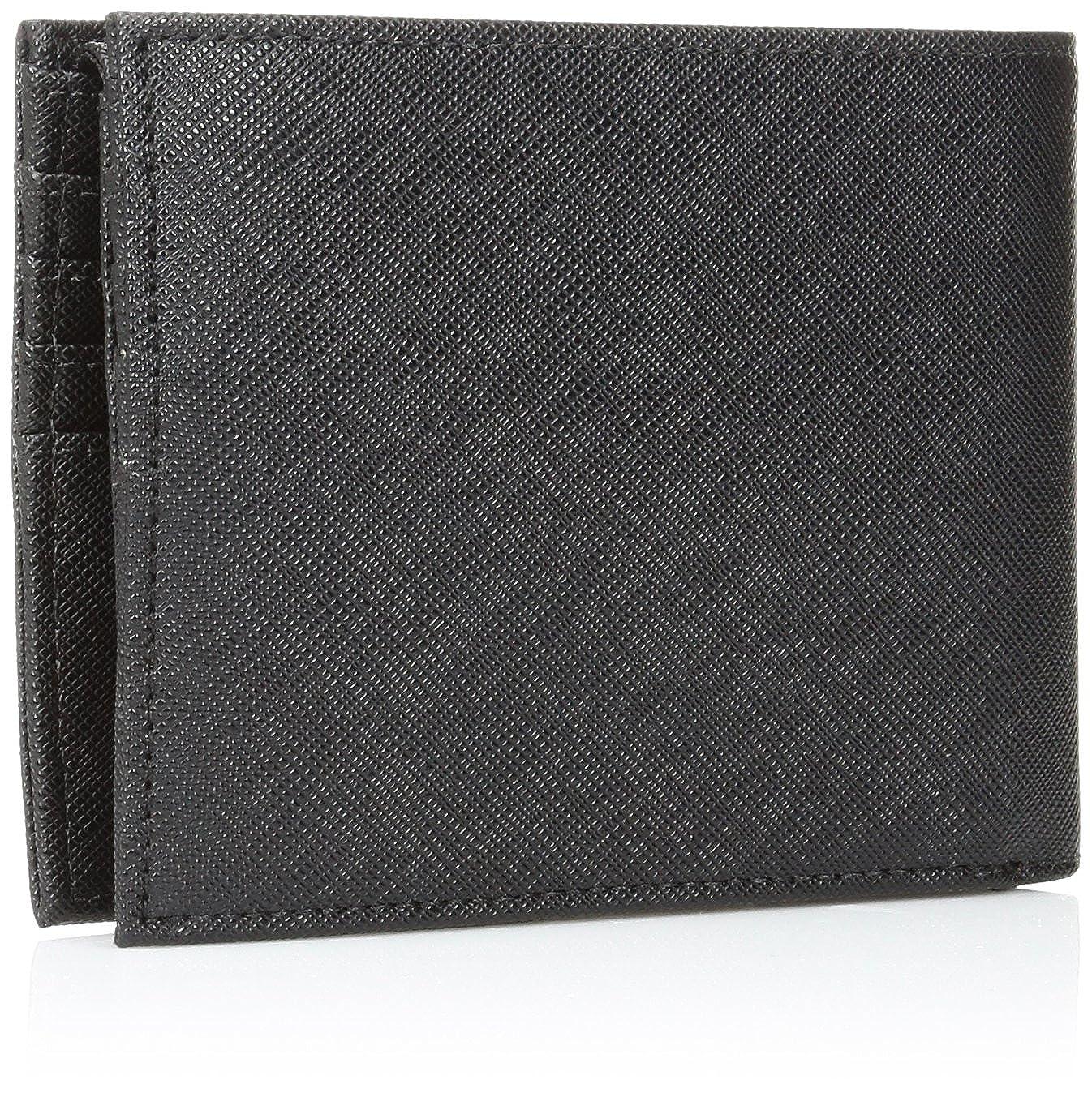 ecf07d8a94e13 Armani Jeans Herren Strukturierte Geldbörse Schwarz Ein Größe  Amazon.de   Bekleidung