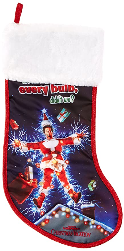 kurt adler national lampoon christmas vacation stocking 19 inch