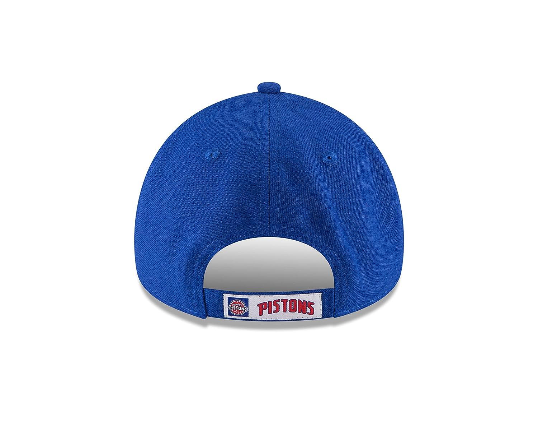 new arrivals 165eb a501e New Era Men s The League 9Forty Detroit Pistons Cap, Blue, One Size   Amazon.co.uk  Sports   Outdoors