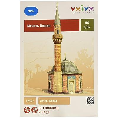 Keranova 324 1: 87 Scale 13.5 x 31cm Clever Paper Temples of The World Konak Mosque 3D Puzzle (1 Piece): Toys & Games