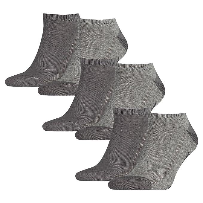 Levis - Calcetines cortos - Básico - para hombre gris middle grey melange ...