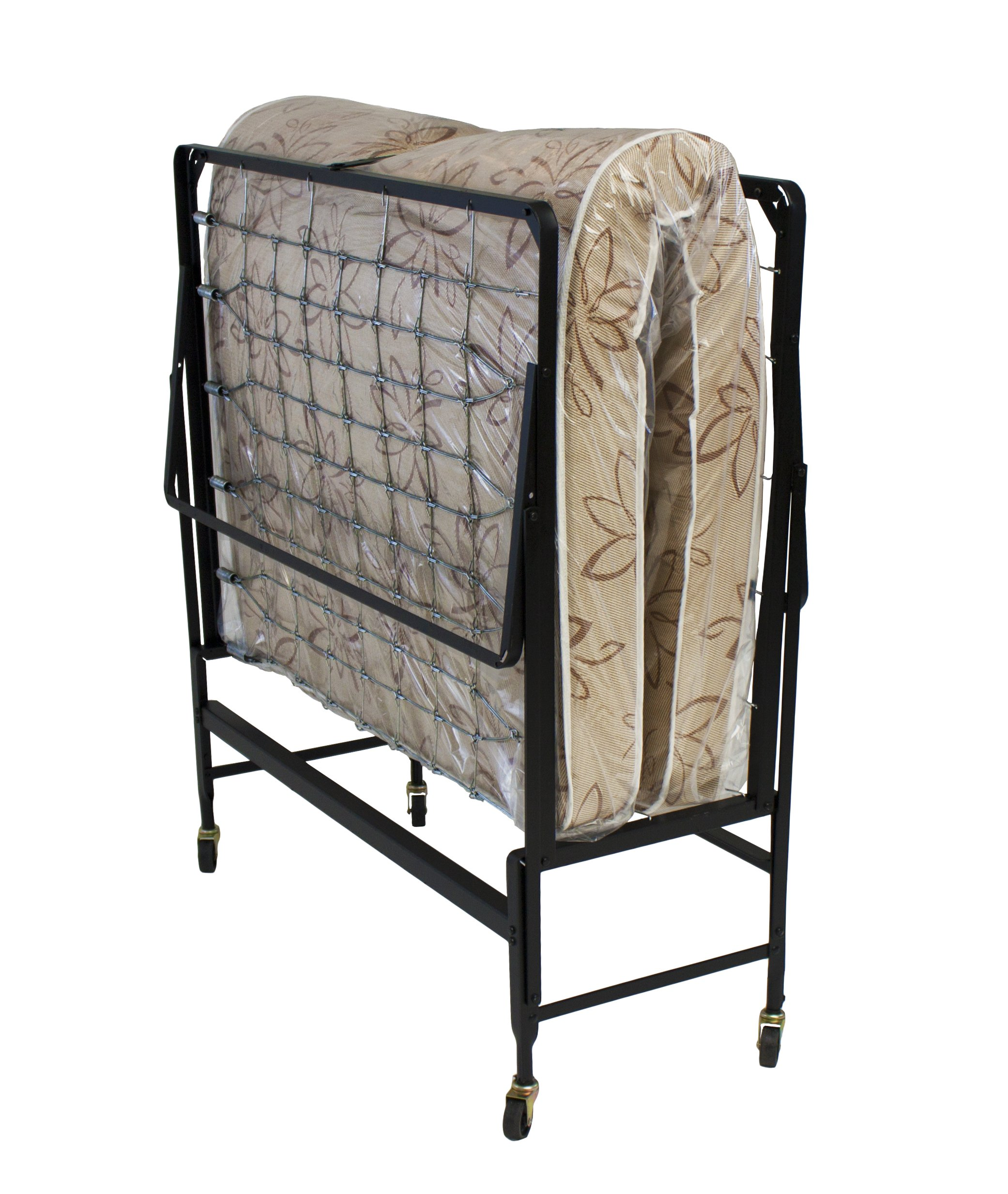 Hollywood Rollaway with Twin Fiber Mattress by Hollywood Bed Frames