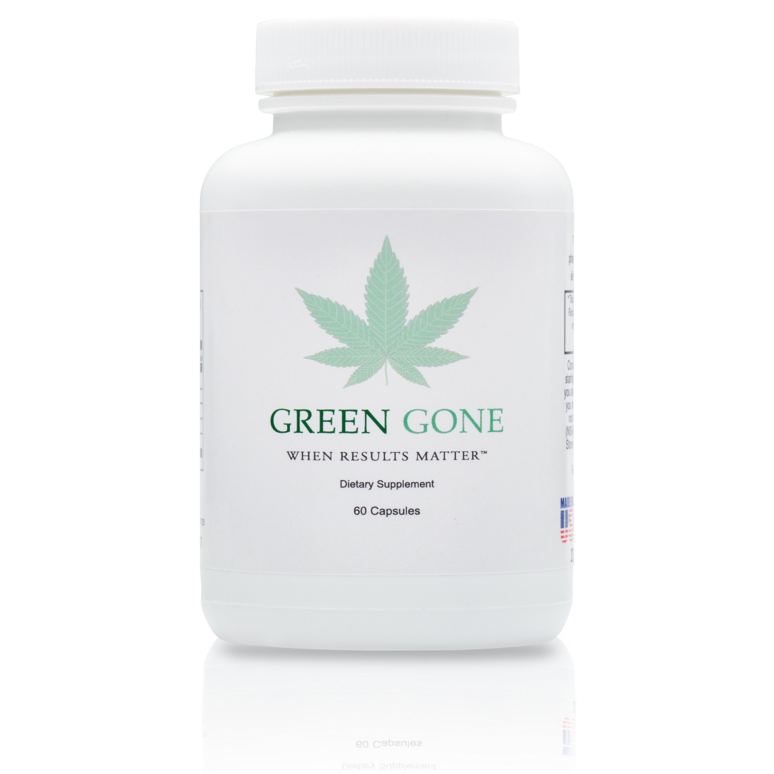 Green Gone 5 Day THC (Marijuana) Detox Kit - Permanent Cleanse, with 5 Free THC Test Strips! by Green Gone LLC (Image #1)