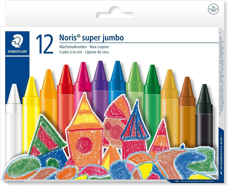 Toppoint  Colorinchen Wachsmalkreide Kreidestift für Schule und Hobby