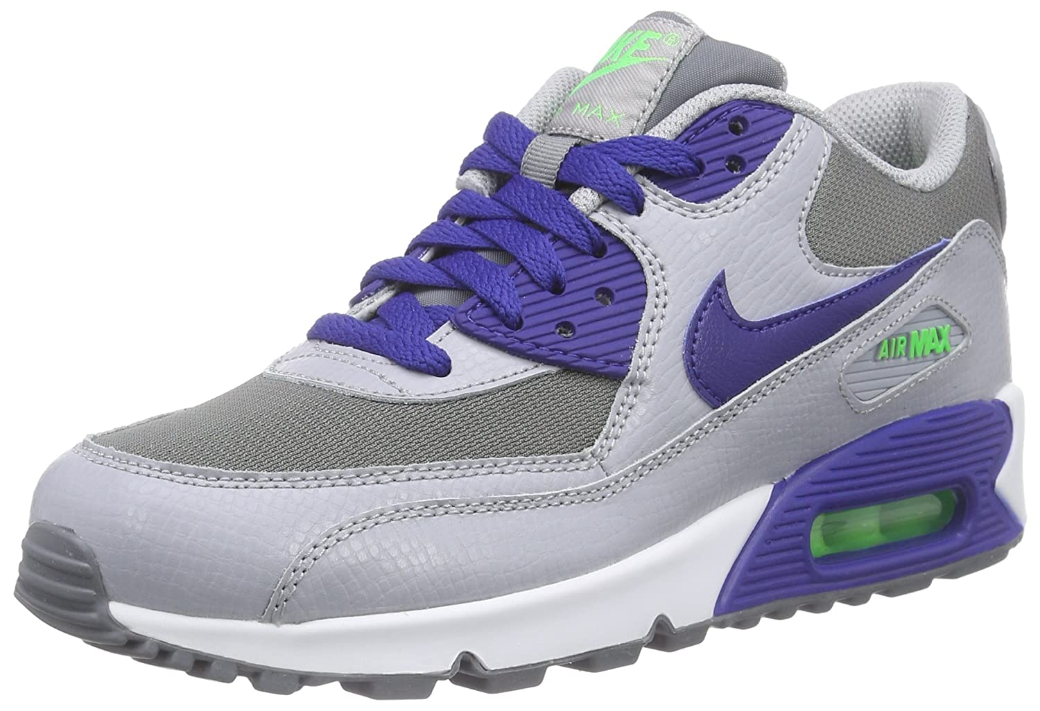 | Nike Youths Air Max 90 Mesh Leather Trainers