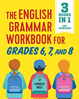 Amazon grammar grades 7 8 100 reproducible activities the english grammar workbook for grades 6 7 and 8 125 simple fandeluxe Gallery
