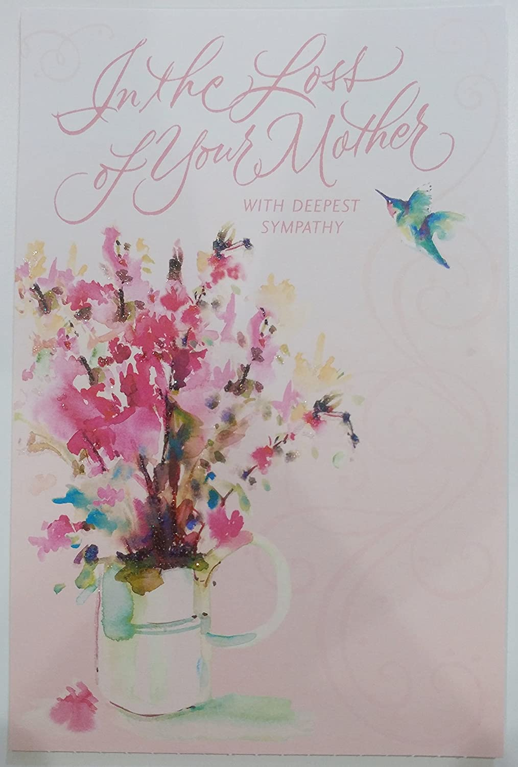 Amazon in the loss of your mother with deepest sympathy amazon in the loss of your mother with deepest sympathy greeting card death mom office products kristyandbryce Choice Image