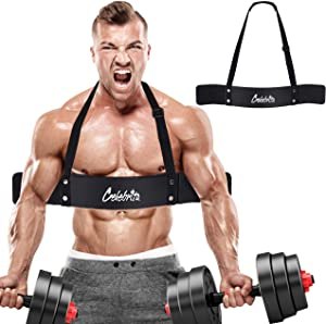 Celebrita Arm Blaster for Arm & Bicep Support - Bicep Curl - Muscle Bomber for Biceps, Triceps, Arm Muscle Strength - Bicep Blaster Heavy Duty for Body Builders & Weightlifters