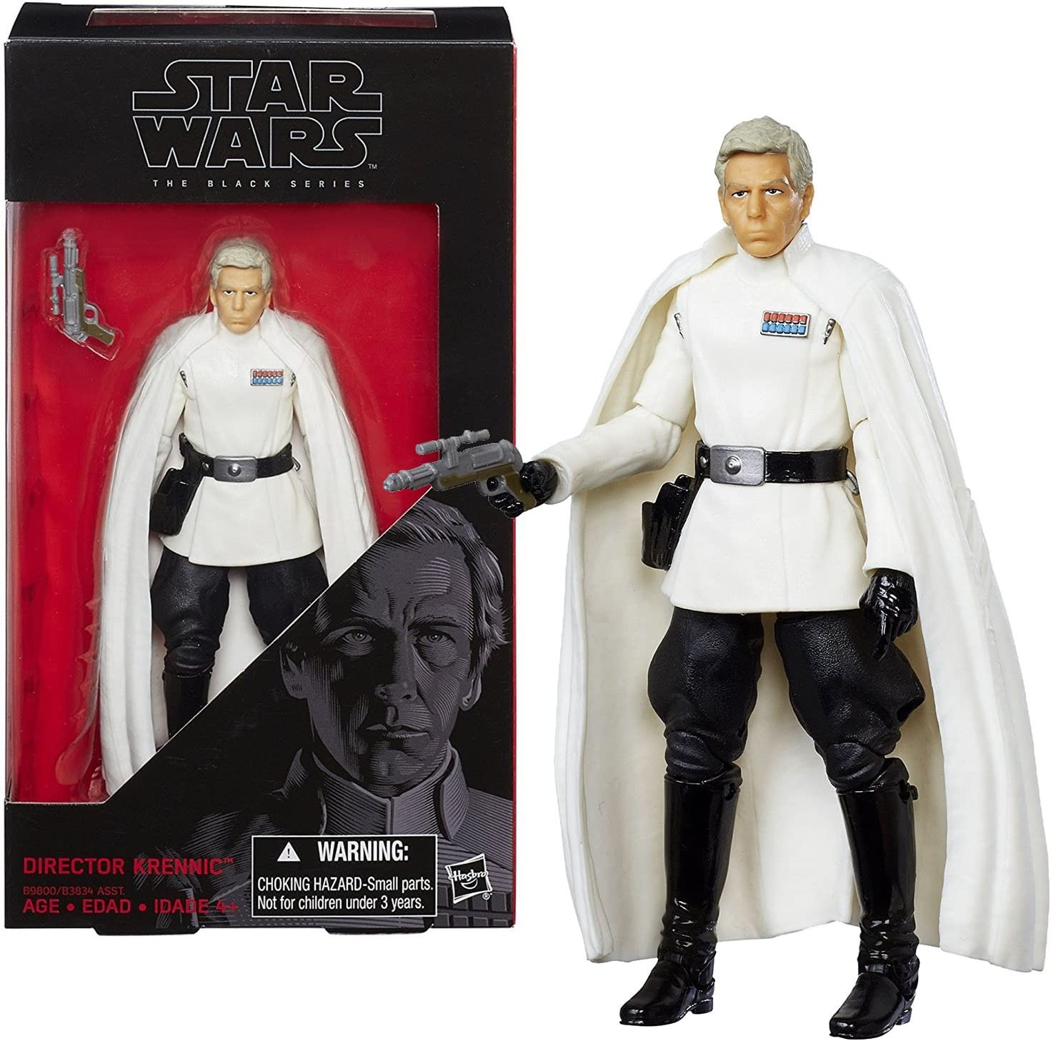 DIRECTOR KRENNIC Figure STAR WARS The Black Series No.27 Collectors Box