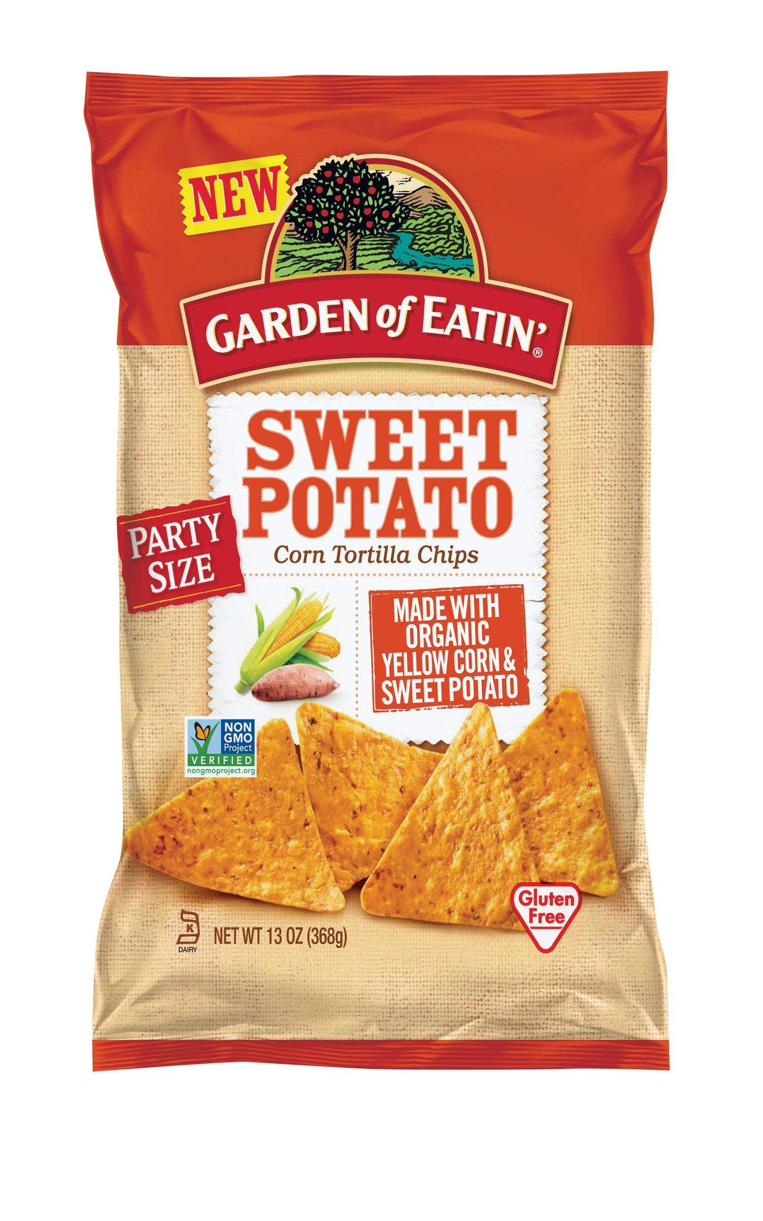 Garden of Eatin' Sweet Potato Corn Tortilla Chips, 13 Ounce