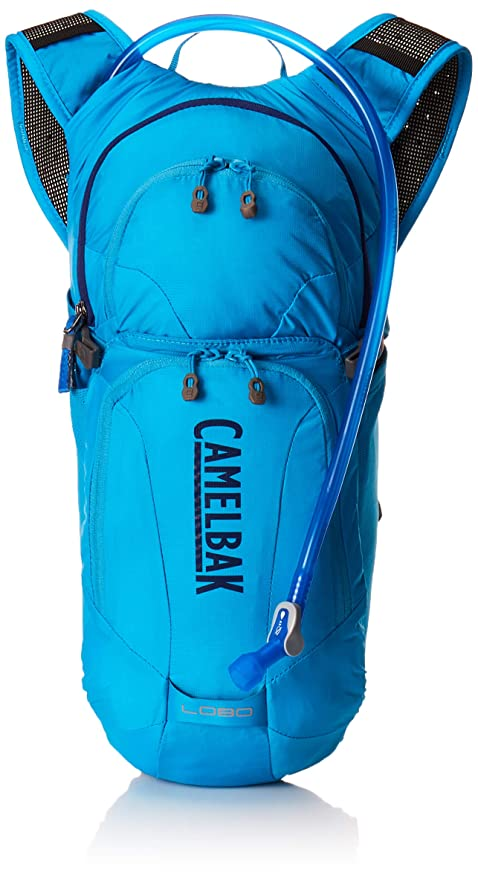 f9283b4a4a0 CamelBak Lobo Crux Reservoir Hydration Pack, Atomic Blue/Pitch Blue, 3 L/