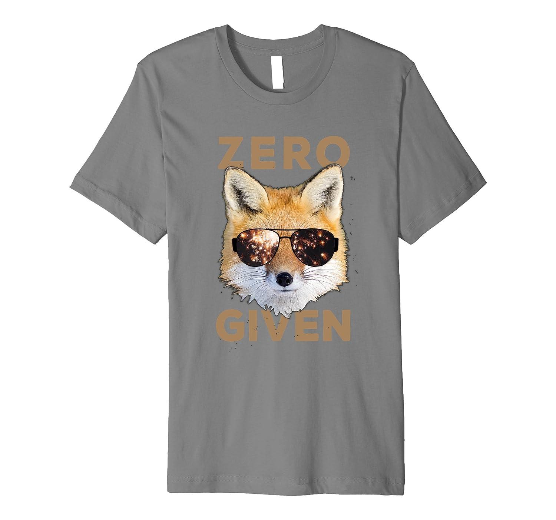 Zero Fox Given - Funny Pun T-shirt [Premium]-BN