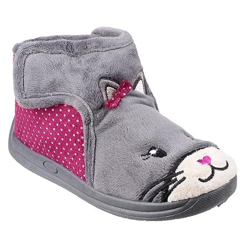 Mirak - Zapatillas de Estar por casa con diseño de Gato para niña: Amazon.es: Zapatos y complementos