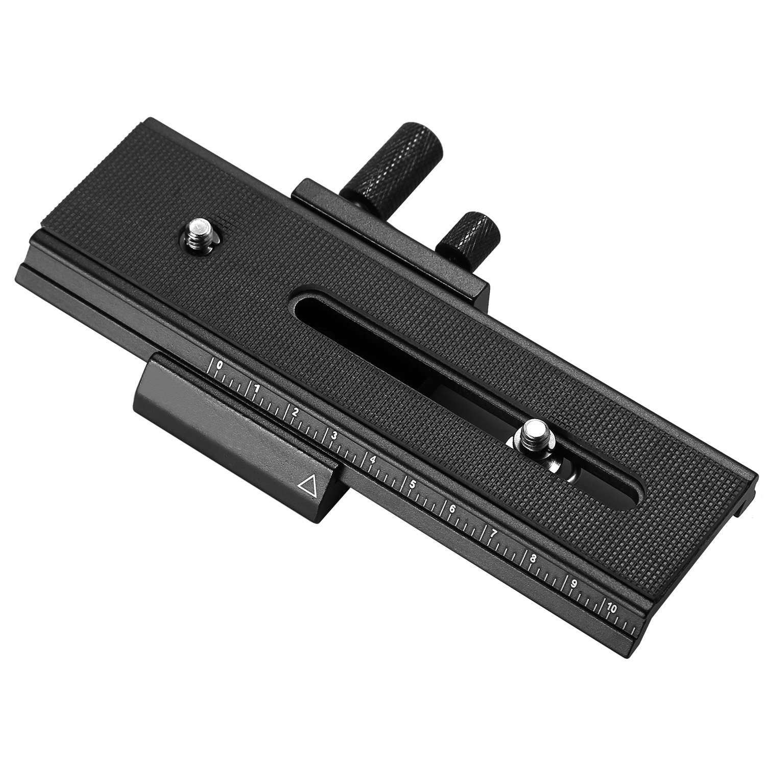 Crazefoto 2-Way Macro Focusing Focus Rail Slider/Close-Up Shooting Compatible with Canon Nikon, Pentax, Olympus, Sony, Samsung and Other Digital SLR Camera and DC with Standard 1/4-Inch Screw Hole by Crazefoto