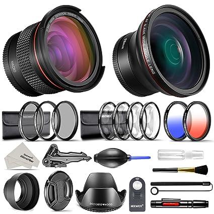 cf777b55968d1 Neewer 52mm Pro Kit Accesorios para Cámara DSLR Nikon Lente Gran Angular  0