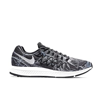 sale retailer c80c1 d94fa nike womens air zoom pegasus 32 solstice running trainers 805939 sneakers  shoes (uk 5.5 us 8 eu 39, black reflective silver pure platinum 001)  ...
