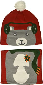 Columbia Toddler/Kids Snow More Beanie and Gaiter Set