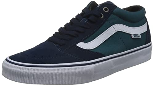 Zapatillas Vans: TNT SG Dress Blue NV/GN, 'dress blue/deep teal', 6.5 UK