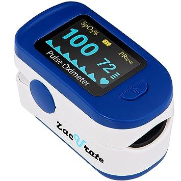 Amazon Zacurate 500b Deluxe Fingertip Pulse Oximeter Blood