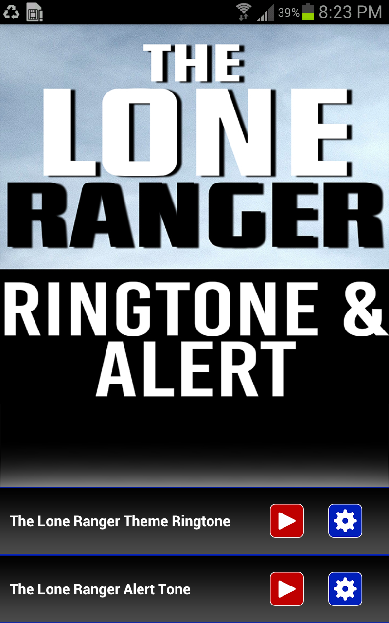 lone ranger theme download