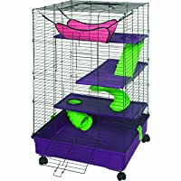 Kaytee Multi-Level Cage W/Removable Casters