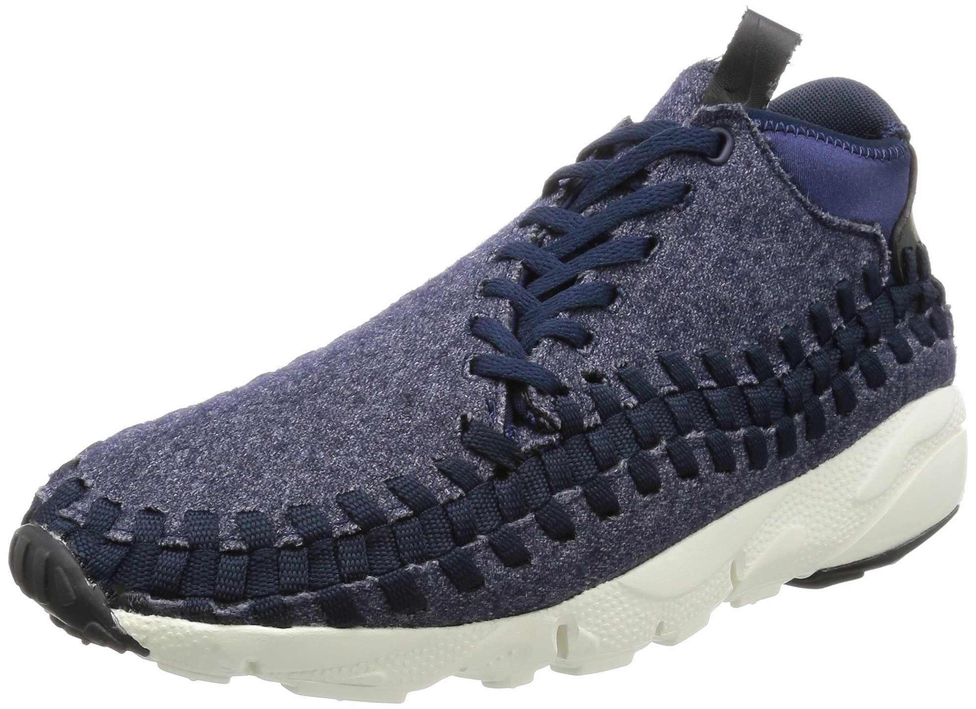 size 40 817da 718f0 Galleon - NIKE Men s Air Footscape Woven Chukka SE Obsidian Black-Sail-Black  857874-400 Shoe 8 M US