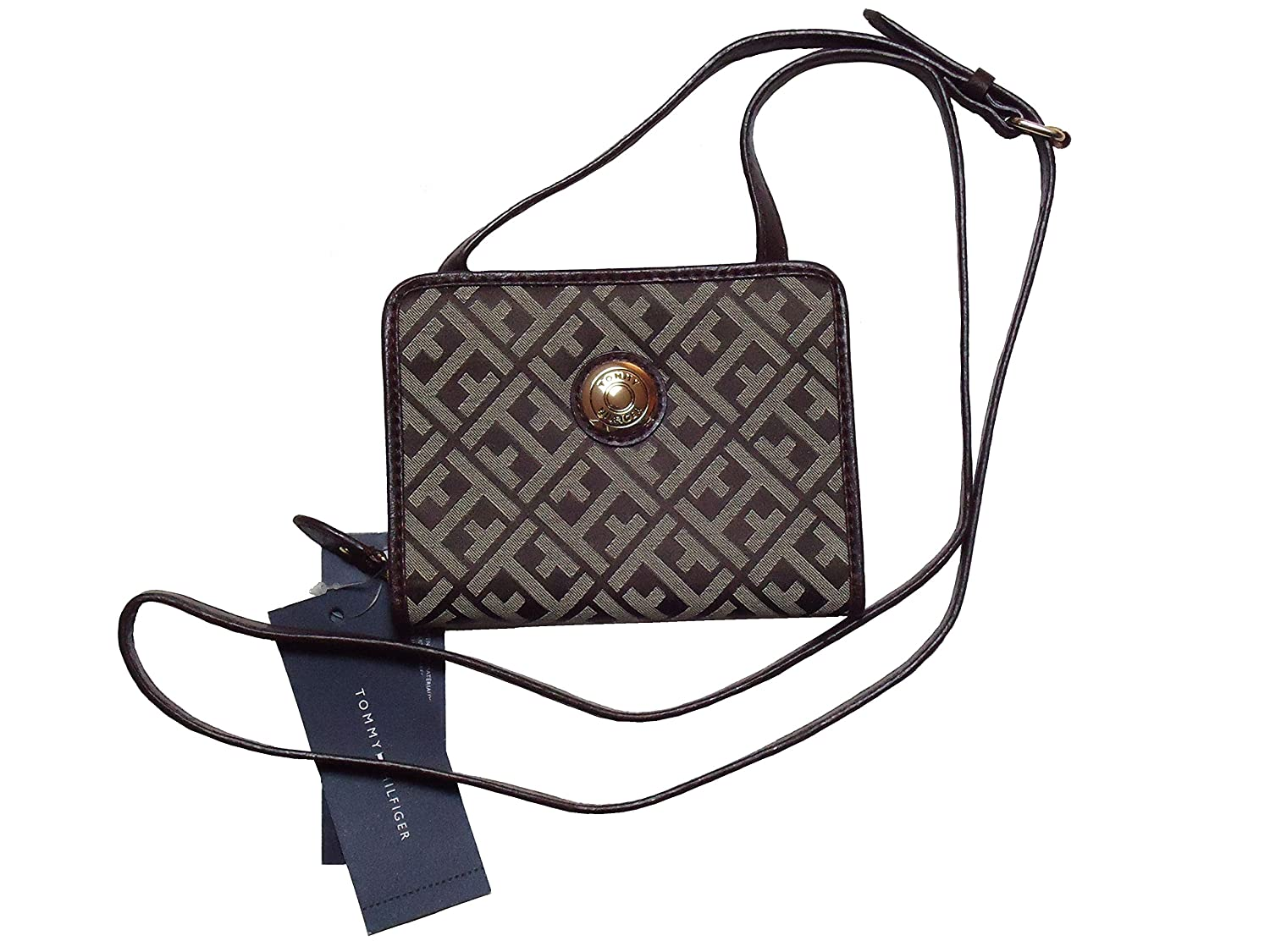 Tommy Hilfiger Wallet Signature Jacquard Wallet for Woman