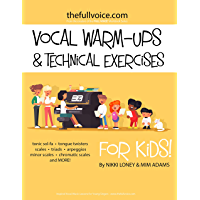 Vocal Warm-Ups and Technical Exercises for Kids! book cover