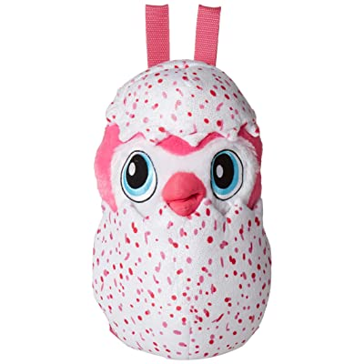 "Hatchimals Eggciting Stuffed Penguala 14"" Backpack: Toys & Games"