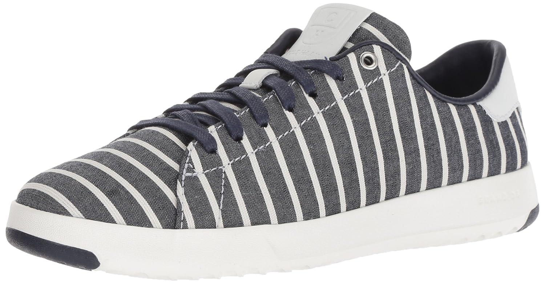 Cole Haan Women's Grandpro Tennis Sneaker B07CN12JQZ 6.5 B(M) US|Freeport Stripe/Optic White