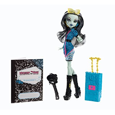 Monster High Travel Scaris Frankie Stein Doll: Toys & Games