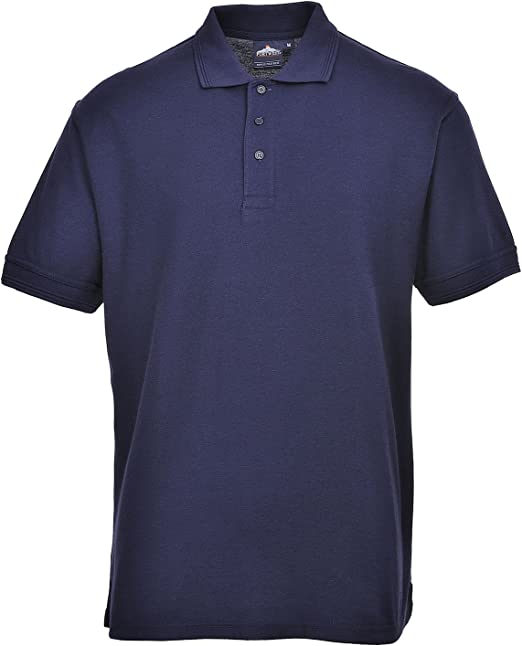 Portwest B210 - Camisa Polo Nápoles, color Armada, talla 3 XL ...