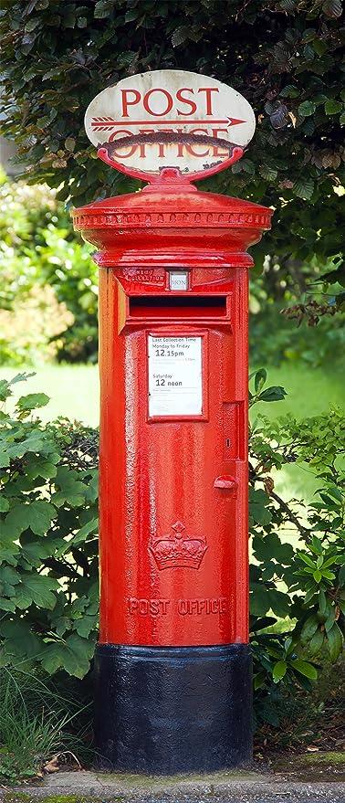 Fototapete Englischer Briefkasten Großbritannien London Postkasten