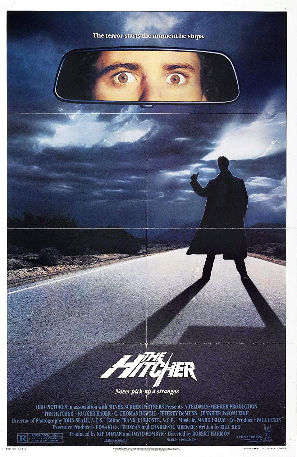 72836 The Hitcher 1986 Movie Decor Wall 32x24 Poster Print