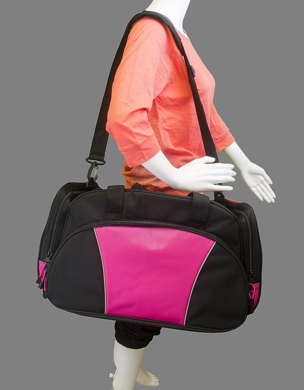 Metro Duffel Gym Travel Bag Baseball Personalized