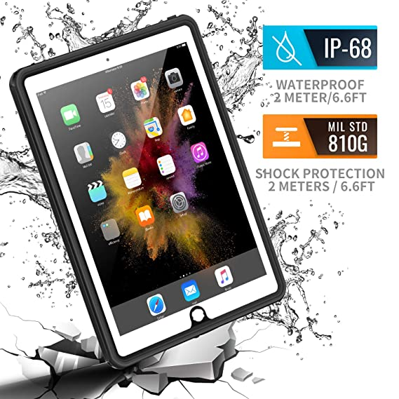Amazon.com: Funda impermeable para iPad Mini 4, Meritcase ...
