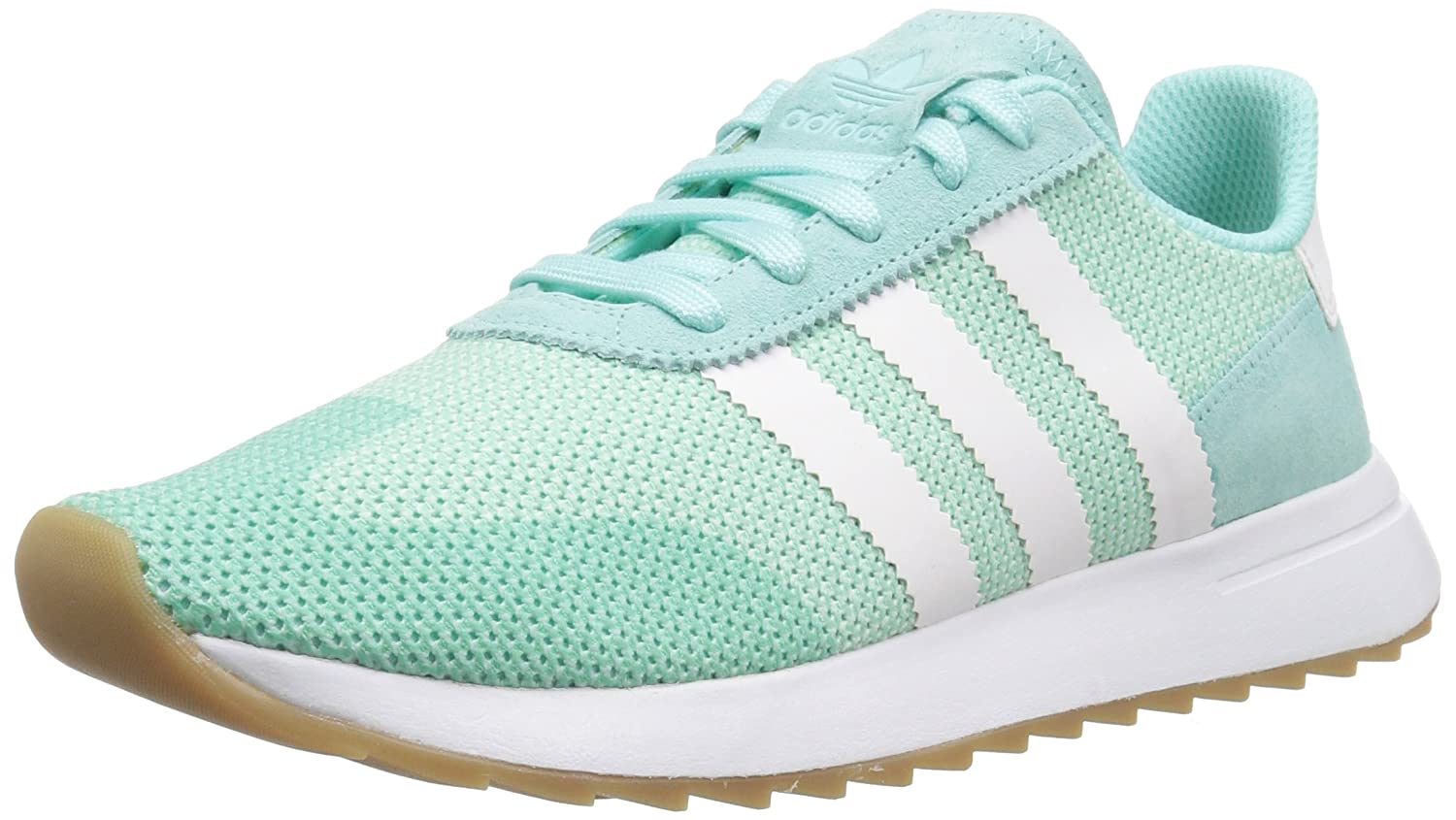 adidas Originals Women's FLB_Runner W Running Shoe B075R8JQ2N 7 B(M) US|Energy Aqua Fabric, Ftwr White, Gum