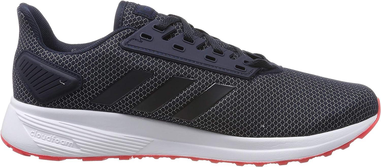 adidas Duramo 9, Chaussures de Running Homme Bleu Legend Ink Shock Red