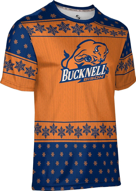Snowflake ProSphere Bucknell University Ugly Holiday Mens Performance T-Shirt