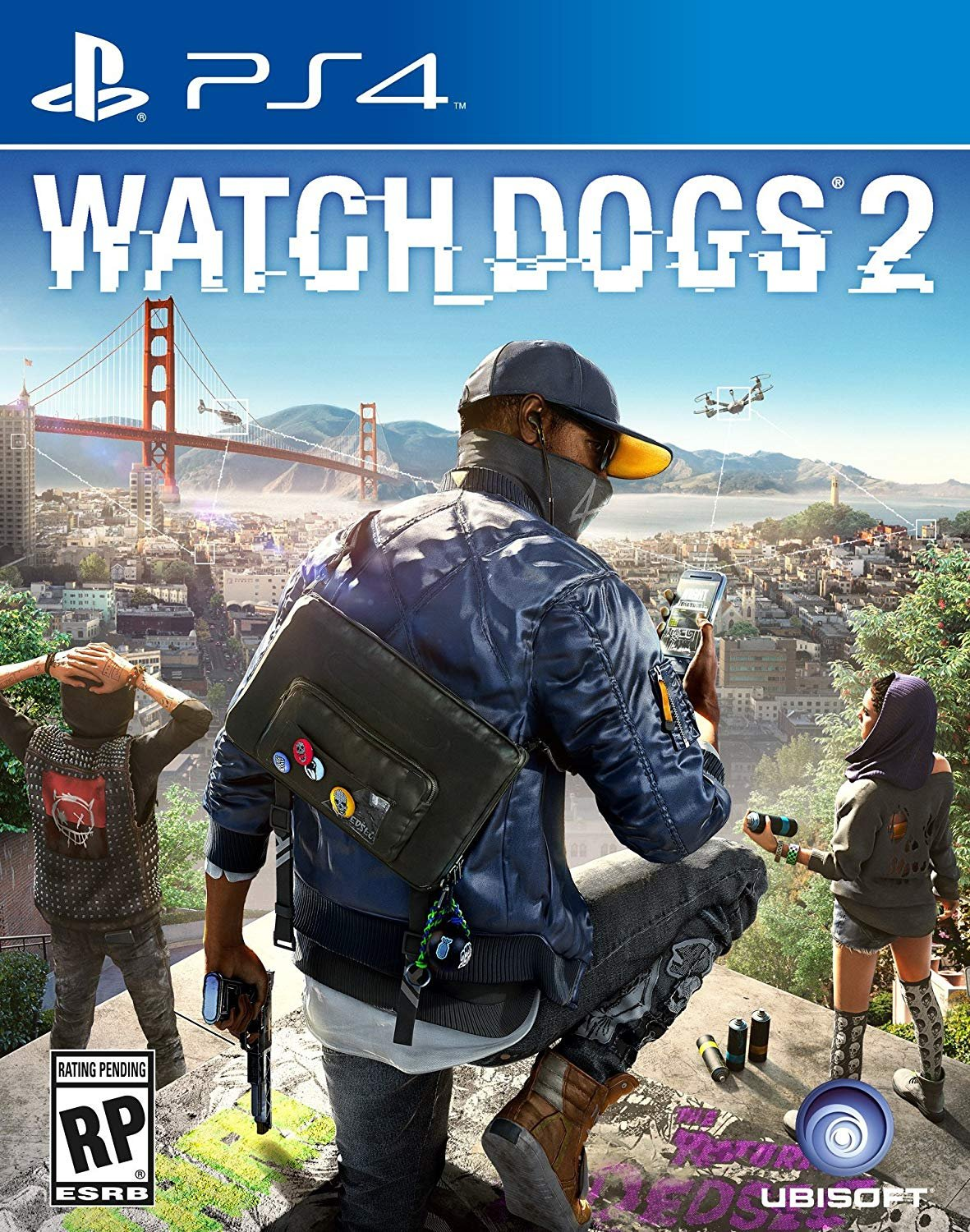Amazon.com: Watch Dogs 2 PS4 - Plays In English 100% Doblado ...