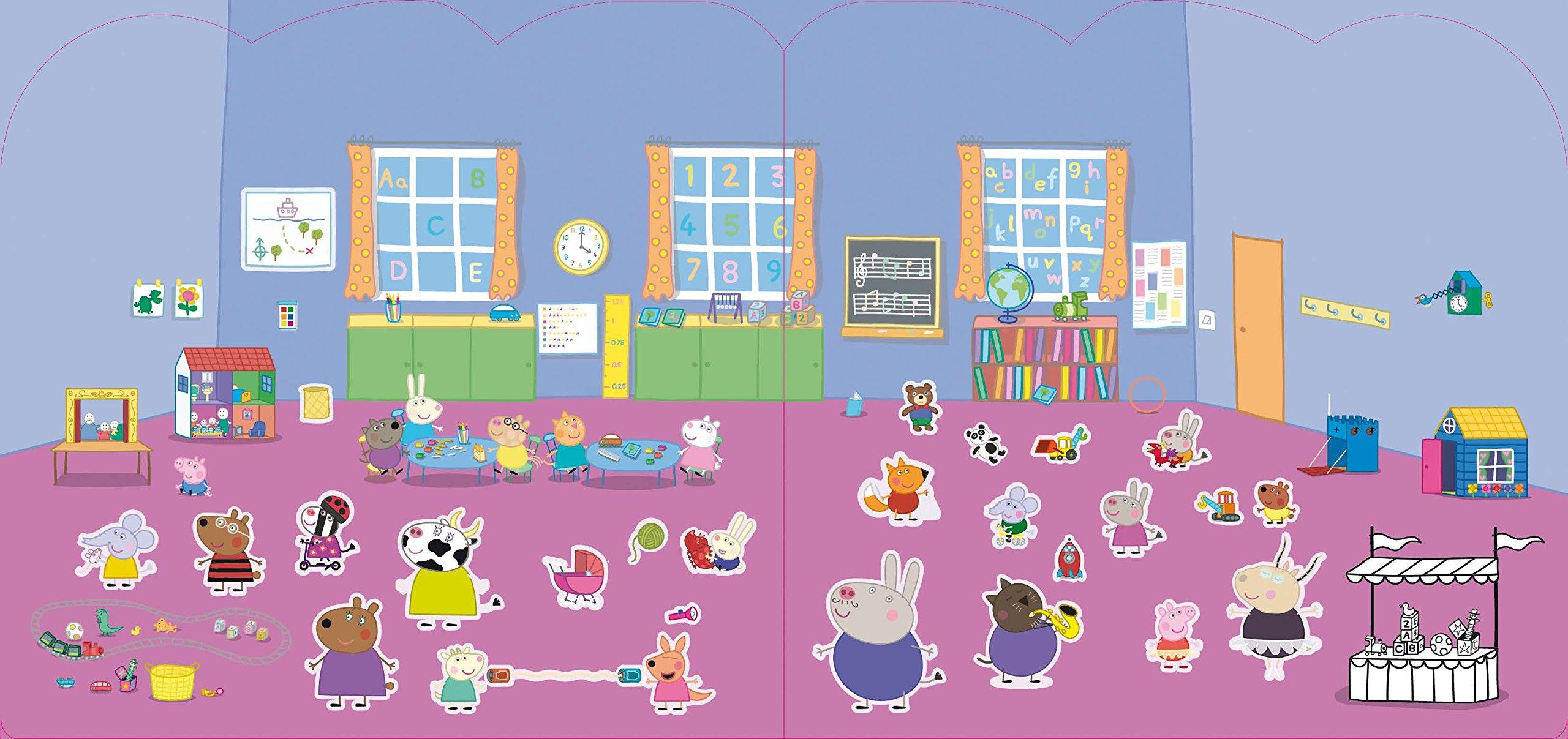 Peppa Pig Stickern Malen Gestalten 250 Sticker Amazonde Bã¼cher