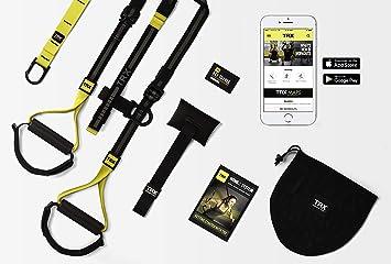 TRX Home 2 Suspension Trainer System Diseño y Durabilidad | Incluye Dos soluciones de Anclaje