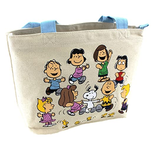 f3c3e9a17911fe Amazon.com  Snoopy N Friend Canvas Handbag  Sports   Outdoors