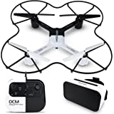 Amazoncom Sharper Image Rechargeable Dx 3 Video Drone 24 Ghz