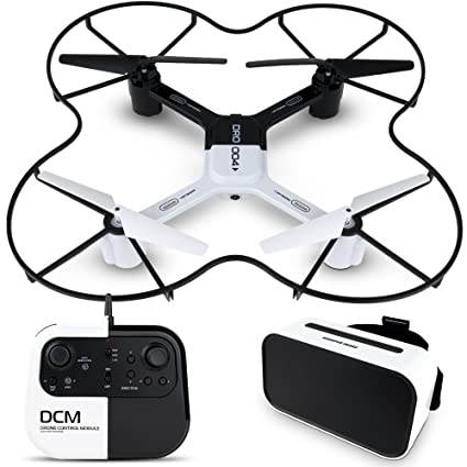 Amazoncom Sharper Image Dro 004 Lunar Drone With Smartphone