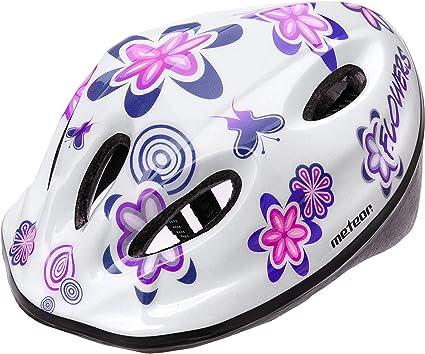 Casco Bicicleta Bebe Helmet Bici Ciclismo para Niño - Cascos para Infantil - Bici Casco para Patinete Ciclismo Montaña BMX Carretera Skate Patines monopatines (M(52-56 cm), MV5-2 Flower): Amazon.es: Deportes y aire