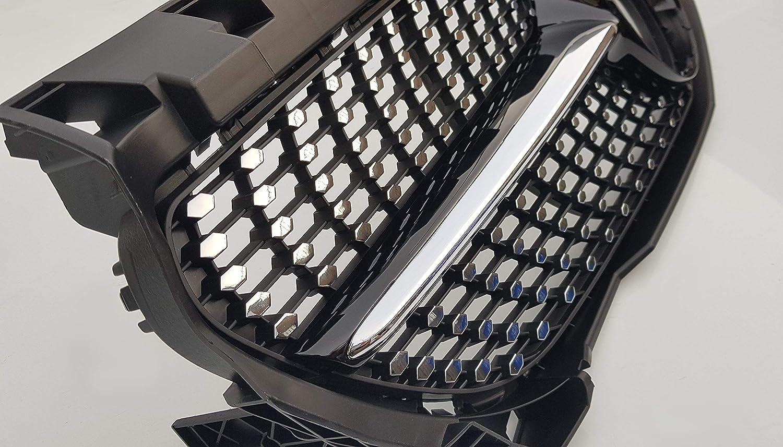 W117 C117 CLA parrilla negra brillante CLA180 CLA200 CLA250 CLA45 AMG estilo