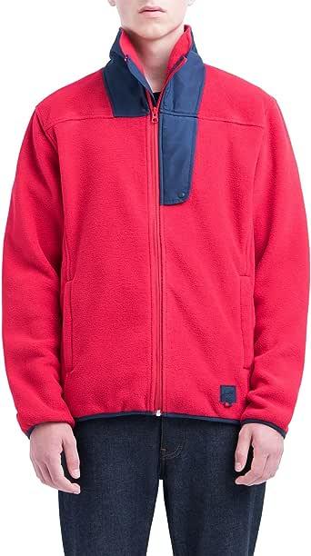 Herschel Men's Fleece Pull Over Jacket