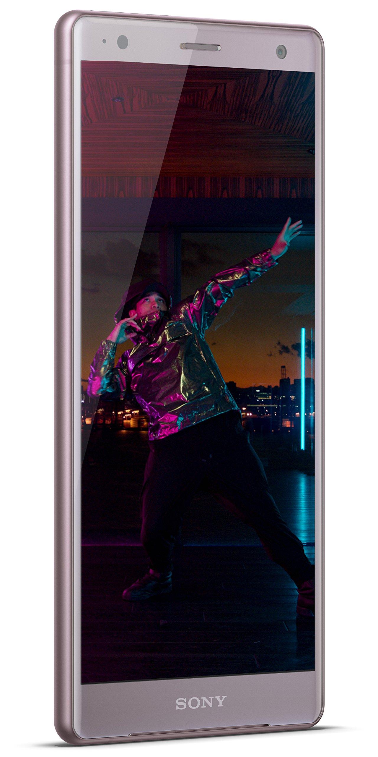 Sony Xperia XZ2 Unlocked Smartphone - 5.7'' Screen - 64GB - Ash Pink (US Warranty)